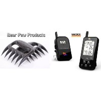 ET733 Wireless BBQ Meat Thermometer, Black, Newest Edition, Includes BEAR PAW Meat Handler Forks by...