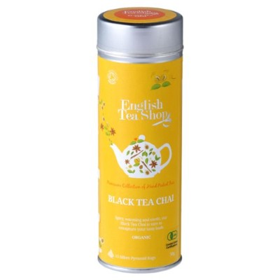Black Tea Chai ラウンド缶 15p