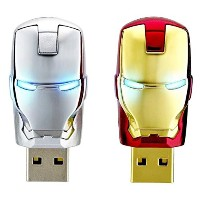 InfoThink / MARVEL Avengers アベンジャーズ / IRON MAN アイアンマン / 8GB USB Flash Drive (USB2.0) / IT-A08GIM ...