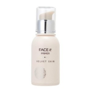 The Face Shop_ Face It velvet skin primer 30g (cover pores and fine lines, controls sebum, oil-free)