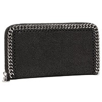 (ステラマッカートニー) STELLA McCARTNEY バッグ 434750 W9132 1000 ファラベラ FALABELLA ZIP AROUND WALLET 長財布 BLACK...