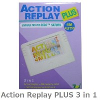 SS ACTION REPLAY PLUS ( セガサターンで使用可能 )