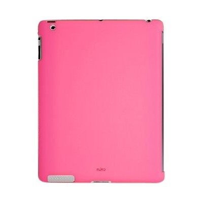 PURO iPad2用背面カバー BACK COVER IPAD 2 SOFT TOUCH PINK(Smart Cover対応) IPAD2BCOVERPNK