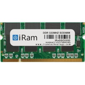 iRam Technology Mac用メモリ PC-2700 200pin 1GB SO-DIMM IR1GSO333D
