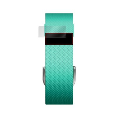 OverLay Brilliant for Fitbit Charge HR 極薄 保護 シート (4枚組) 光沢 液晶 フィルム プロテクター OBFITBITCHARGEHR/4/12