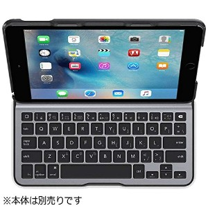 BELKIN iPad mini 4用 QODE Ultimate Liteキーボードケース ブラック F5L191QEBLK