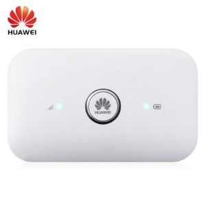 HUAWEI E5573s - 856 モバイル WiFi ルーター - TD-LTE 150Mbps ワイヤレス 4G ルーター with Dual External アンテナ インターフェース / SIM カード スロット ホワイト [並行輸入品]