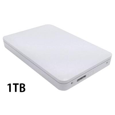KITCUT DataTale Mobile HDD 1TB USB3.0 ホワイト
