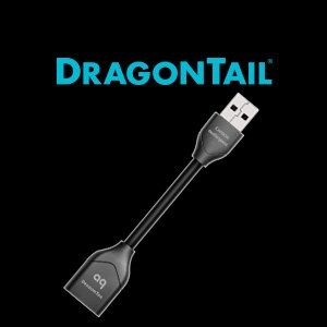 audioquest DRAGONTAIL/AD Dragonfly用 アダプター OTGケーブル オーディオクエスト DragonTail USB Adapter For Android...