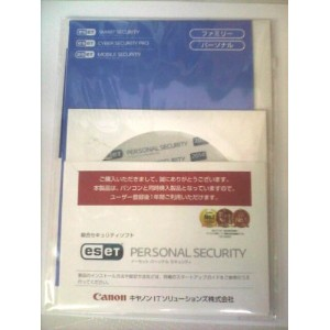 ESET PERSONAL SECURITY 1ライセンス1年版