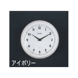 [DULTON]ダルトン クロックWALL CLOCK IVORY S52639IV