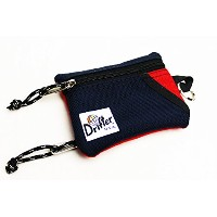 Drifter (ドリフター) / Key Coin Pouch (Red / Navy)