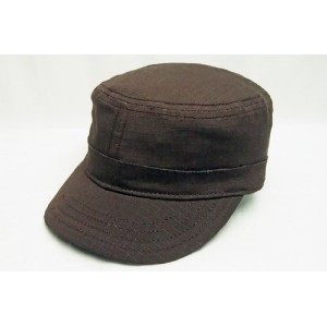 "BRONER ""COMMAND POST"" COTTON CAP(BROWN) L~XL size"