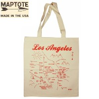 【MAPTOTE】 Grocery Tote Bag【マップトート】 グロッサリー トートバッグ Los Angeles