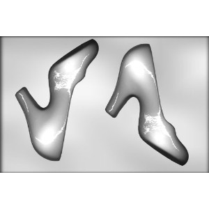 CK Products 8-Inch 3-D High Heel Shoe Chocolate Mold by CK Products