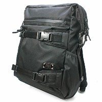 AS2OV アッソブ CORDURA DOBBY 305D 2WAY BAGPACK Black 061410