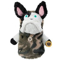 MU Sports Ladies Fairway Wood Cover French Bulldog Plush【ゴルフ レディース>ヘッドカバー】