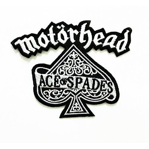 Motorhead Rock Music Band Patch Embroidered Iron on Hat Jacket Hoodie Backpack Ideal for Gift/ 10cm...