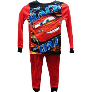 ◎【Disney】 Cars/カーズ キッズサイズ パジャマ上下SET 【THE RACE IS ON!】size:6
