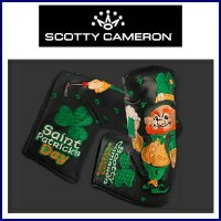 【送料無料】Scotty Cameron LIMITED PUTTER Head Cover 2015 St. Patrick's Day Dancing Lepre Chauns-BK...