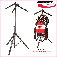Feedback Sports ポータブル クロージング ラック(収納バック付属) (Portable Clothing Rack w/Tote Bag)【フィードバックスポーツ】