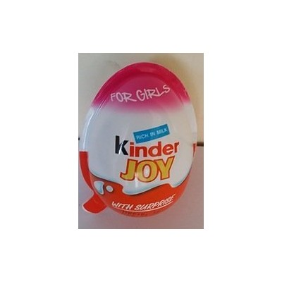 KINDER JOY CHOCOLATE - GIRL VERSION - 12PCS by Kinder [並行輸入品]