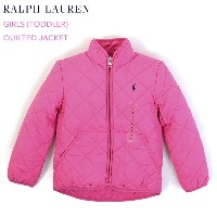 """(TODDLER) POLO by Ralph Lauren """"GIRL (2-6X)"""" Quilted Jacket USラルフローレン 子供用のキルティングジャケット (UPS)"""