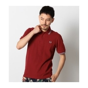 FRED P:MADE IN ENGLAND POLO【シップス/SHIPS メンズ ポロシャツ ワイン ルミネ LUMINE】