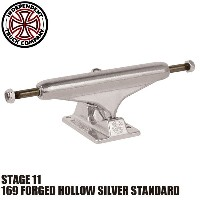 【INDEPENDENT】169 FORGED HOLLOW SILVER STANDARD STAGE 11 SKATEBOARD TRUCK(インディペンデント スケートボード トラック...
