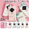 iPhone8 iPhone7 iPhone6s iPhone6 ケース 手帳型 trouver Plie トルヴェ プリエ 窓付き 【 iphone7 iphone 8 アイフォン7 アイフォン8...