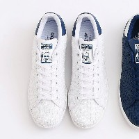 adidas Originals STAN SMITH (Running White/Running White/Mystery Blue) (アディダス オリジナルス スタンスミス) 【メンズ...