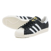 ADIDAS SUPERSTAR 80s アディダス スーパースター 80s BLACK/WHITE