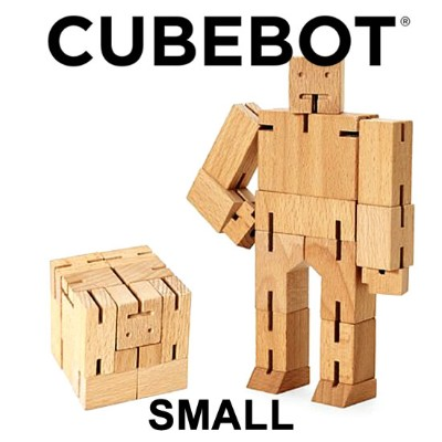 CUBEBOT キューボット [SMALL] NATURAL 知育玩具 木製玩具 パズル