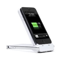 i-Blason PowerStand iPhone 5S / iPhone 5 Rechargeable Extended バッテリー Kickstand ケース [Apple MFI...