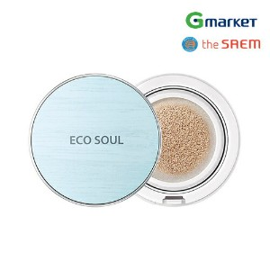 【the SAEM】【ザ セム】エコ ソウル パワープルフ クーリング BB クッション/Eco Soul Power Proof Cooling BB CUSHION SPF50+ PA+++...