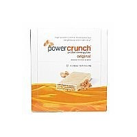 BioNutritional Research Group Power Crunch Bar 12 Bars Peanut Butter Creme [並行輸入品]