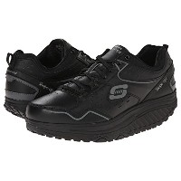 (スケッチャーズ) SKECHERS 靴・シューズ SKECHERS Shape Ups 2.0 - Perfect Comfort Black US 7 (24cm) B