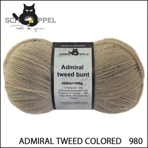 SCHOPPEL 靴下用毛糸 ADMIRAL TWEED COLORED 980