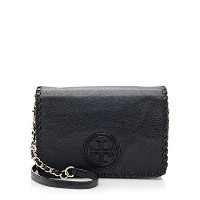 TORY BURCH MARION COMBO CROSS-BODY BLACK