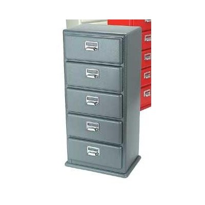 [DULTON]ダルトン 5 DRAWERS CHEST H.GRAY