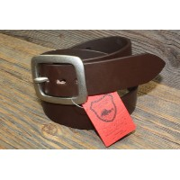 NAMSB ORIGINAL TOCHIGI LEATHER BELT(BROWN) L size