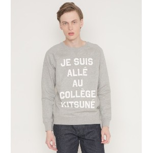 PERM SWEAT SHIRT JE SUIS ALLE