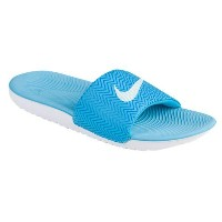 (取寄)Nike ナイキ レディース カワ スライド Nike Women's Kawa Slide Chlorine Blue Glacier Blue Photo Blue