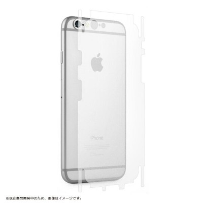 iPhone 6s iPhone 6 背面保護フィルム「SHIELD・G HIGH SPEC FILM」マット・背面・側面保護 アイアンシールド /3D Touch対応/感圧センサー対応
