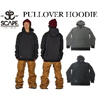 2016/2017 SCAPE エスケープ PULLOVER HOODIE スノーボードウェア 撥水パーカー16-17RSS