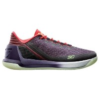 """Under Armour Curry 3 Low """"Full Circle""""メンズ White/Imperial Purple/Lime Fizz アンダーアーマー バッシュ カリー3..."""