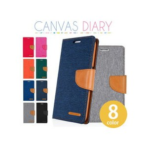CANVAS DIARY【DM便送料無料】 手帳型 キャンバスダイアリー iPhoneX iPhone8 iPhone8Plus iPhone7 iPhone7Plus iPhone6...