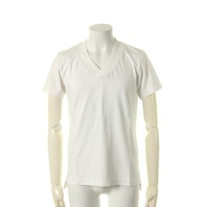 VADEL バデル silky tight jersey thick V-neck{-AGS}{PR_40}