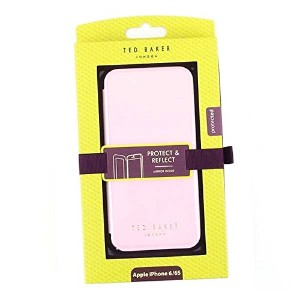 Ted Baker (テッドベーカー) スマホケース SHANNON L.PK 129498 BOOK WITH MIRROR IPHONE 6 CASE NUDE PINK [並行輸入品]
