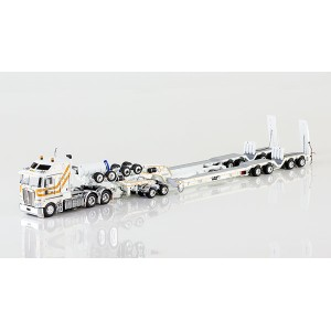 CQ Group - Kenworth K200 with Drake 4x8 Dragline Bucket Trailer and 2x8 Dolly トラック トレーラー /DRAKE...